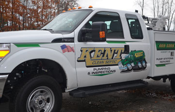 Kent Septic Clean Trucks